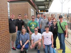 Young Professionals Group Green Line Technical Tour