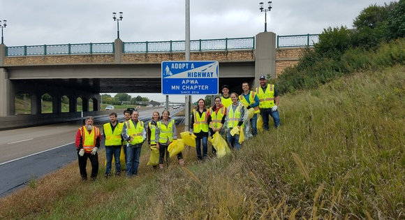 Volunteers Brave the Elements for 5th Adopt-A-Highway Event