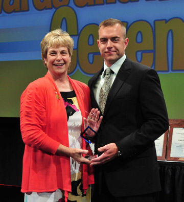 2012 Young Professional Award, Chris Petree, City of Lakeville