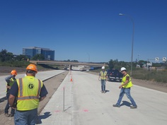 Student Chapter tours US Highway 169 Reconstruction Project