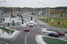 Idea Center: Diverging Diamond Interchanges