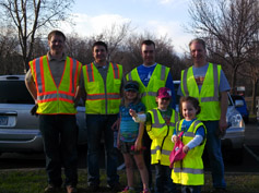 Chapter Helps Clean Up Lakeville Watershed Area