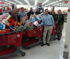 APWA-MN Members Generously Donate to Toys for Tots