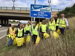 October 12, 2017 Adopt-a-Highway Volunteer Event