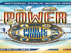 Governor Dayton declares May 20-26, 2018 as Public Works Week