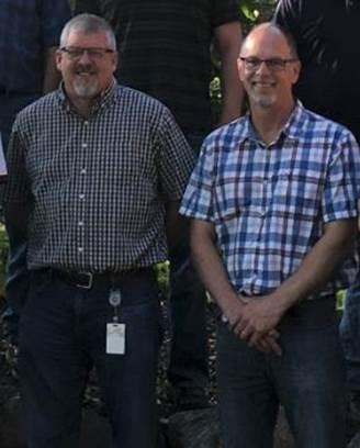 Lane Wegener and Dale Ronning