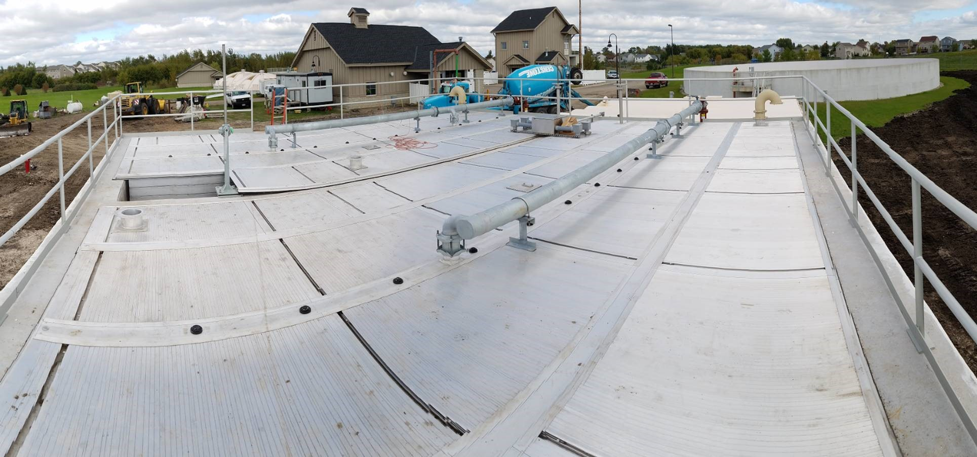 Expansion of Wastewater Treatment Facility Clears the Air