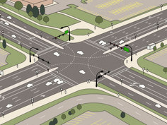 To the Future: What do driverless cars mean for road design?