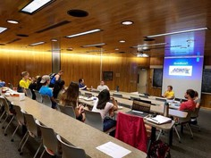 The APWA-MN Student Chapter hosted its start of the school year ice cream social
